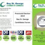 BSG Chamber of Commerce - Candidates Forum 2019